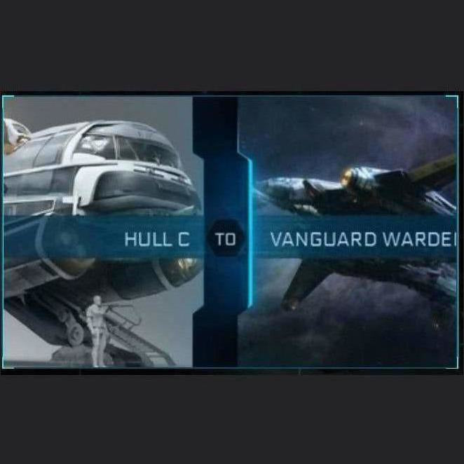 Hull C to Vanguard Warden | Upgrade | Might | Space Foundry Marketplace.