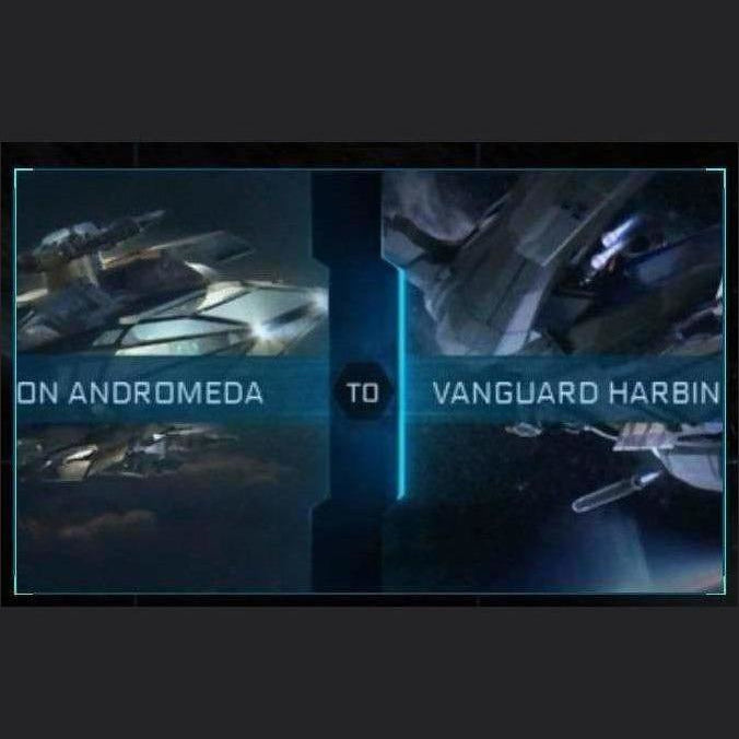 Constellation Andromeda to Vanguard Harbinger | Upgrade | Might | Space Foundry Marketplace.