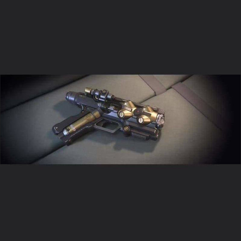 YUBAREV 'DEADEYE' PISTOL | Add-On | JPEGS STORE | Space Foundry Marketplace.