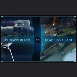 Cutlass Black to Gladius Valiant | Might | Space Foundry Marketplace