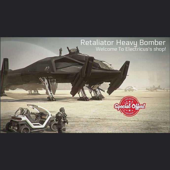 Retaliator Heavy Bomber LTI CCUed | Official Store by Electricus | Space Foundry Marketplace