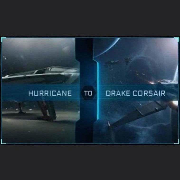 Hurricane to Corsair | Upgrade | Might | Space Foundry Marketplace.
