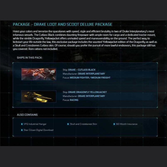 DRAKE LOOT AND SCOOT DELUXE PACKAGE | Game Package | Jpeg_Warehouse | Space Foundry Marketplace.