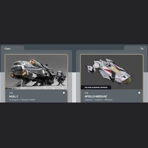 Hull C to Apollo Medivac | Might | Space Foundry Marketplace