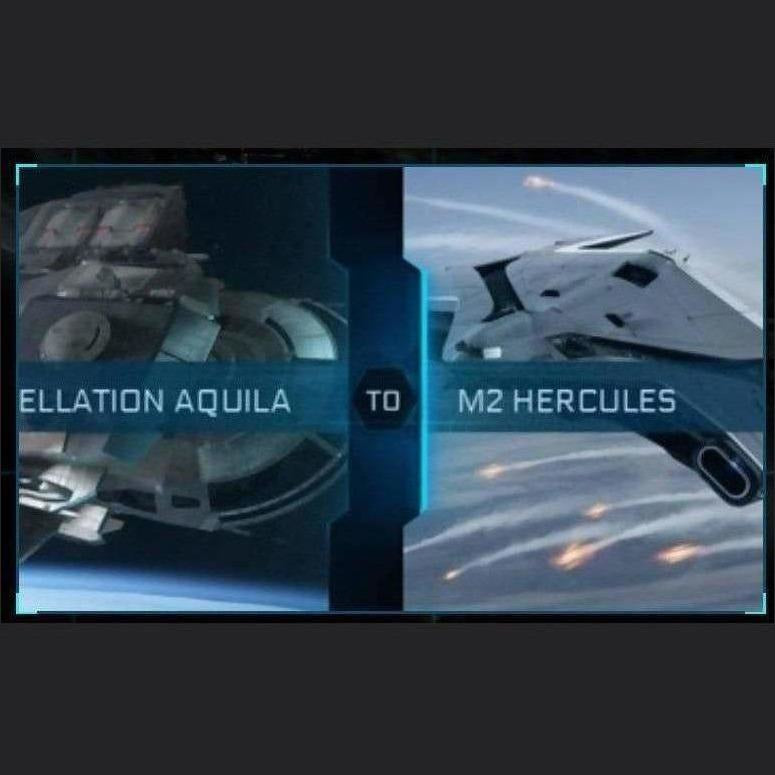 Constellation Aquila to M2 Hercules | Upgrade | Might | Space Foundry Marketplace.