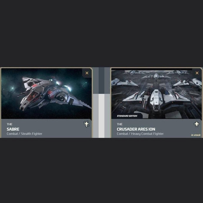 UPGRADE - SABRE TO CRUSADER ARES ION | Upgrade | JPEGS STORE | Space Foundry Marketplace.