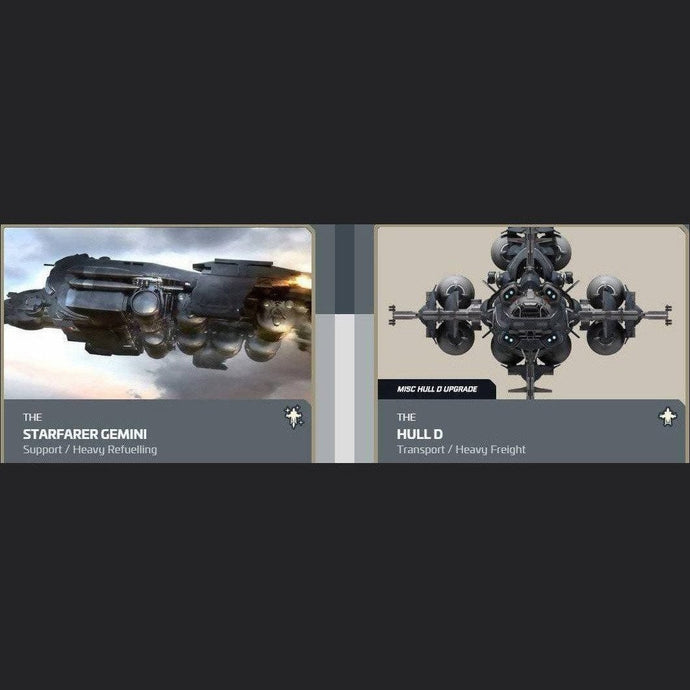 UPGRADE - STARFARER GEMINI TO HULL D | Upgrade | JPEGS STORE | Space Foundry Marketplace.