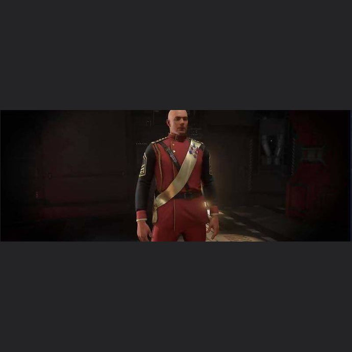SECOND TEVARIN WAR RED DRESS UNIFORM | Add-On | JPEGS STORE | Space Foundry Marketplace.
