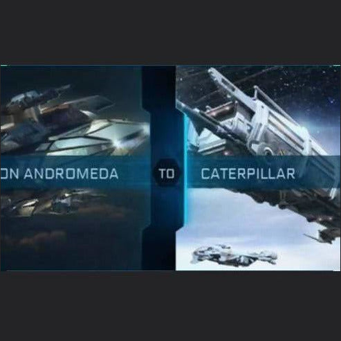 Andromeda to Caterpillar | Upgrade | Jpeg_Warehouse | Space Foundry Marketplace.