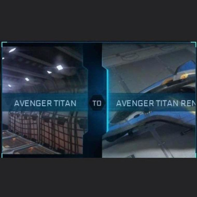 Avenger Titan to Avenger Titan Renegade | Might | Space Foundry Marketplace