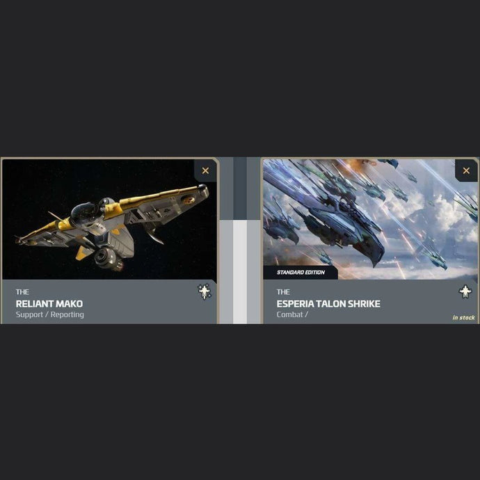 UPGRADE - RELIANT MAKO TO ESPERIA TALON SHRIKE | Upgrade | JPEGS STORE | Space Foundry Marketplace.