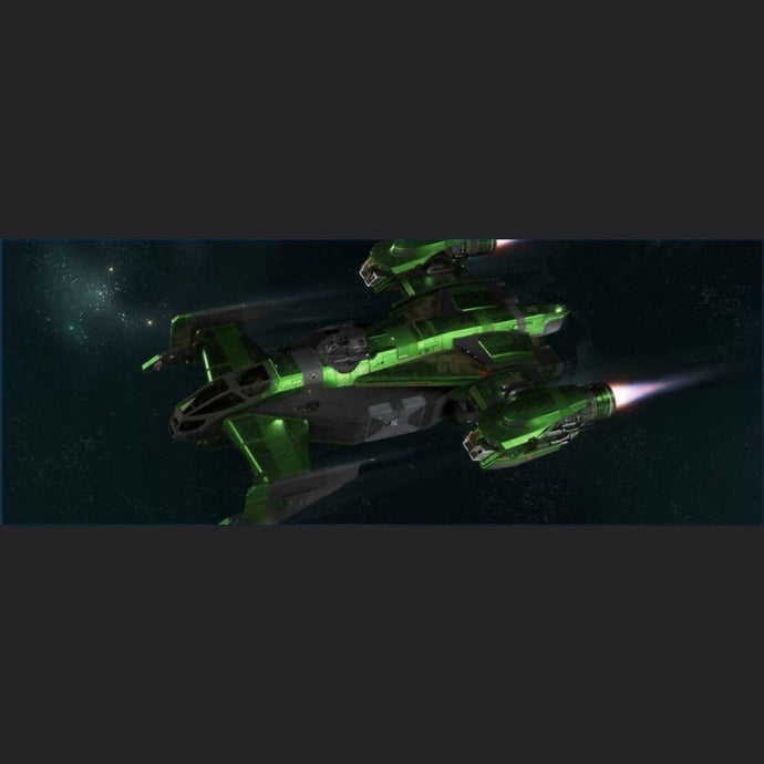 DRAKE CUTLASS GHOULISH GREEN PAINT | Might | Space Foundry Marketplace.