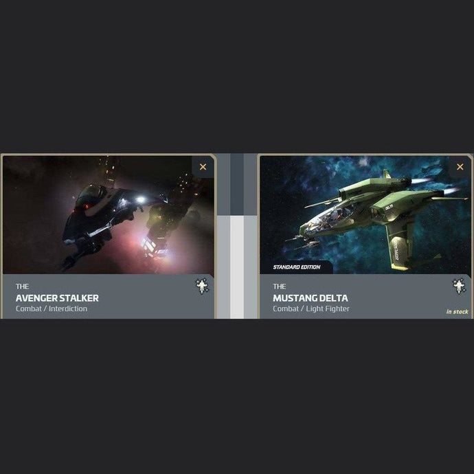 UPGRADE - AVENGER STALKER TO MUSTANG DELTA | Upgrade | JPEGS STORE | Space Foundry Marketplace.