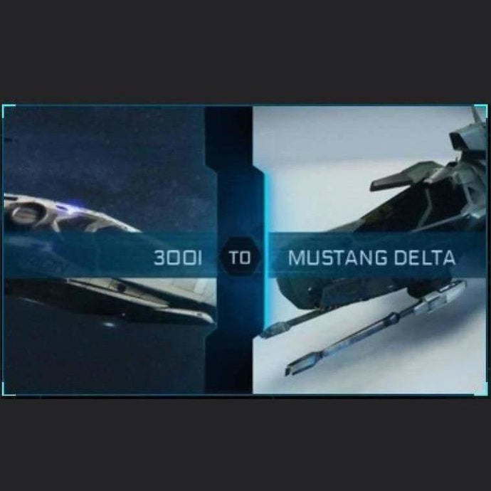 300i to Mustang Delta | Upgrade | Might | Space Foundry Marketplace.