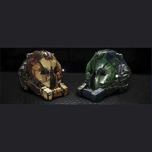 OVERLORD HELMETS 'FORCES OF NATURE' PACK | GANJALEZZ JPEGs STORE | Space Foundry Marketplace