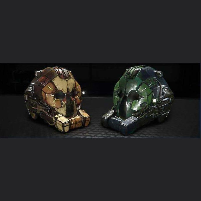 OVERLORD HELMETS 'FORCES OF NATURE' PACK | Add-On | JPEGS STORE | Space Foundry Marketplace.