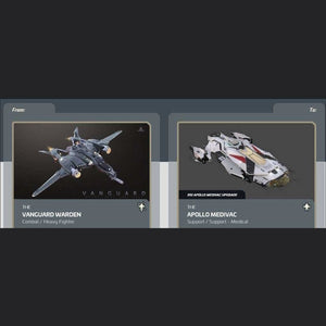 Vanguard Warden to Apollo Medivac | Might | Space Foundry Marketplace