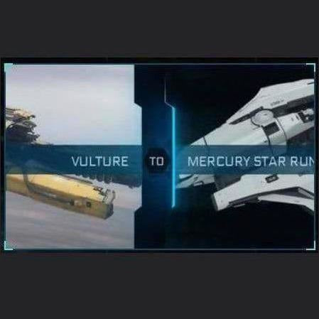 Vulture to Mercury Star Runner | Upgrade | Might | Space Foundry Marketplace.