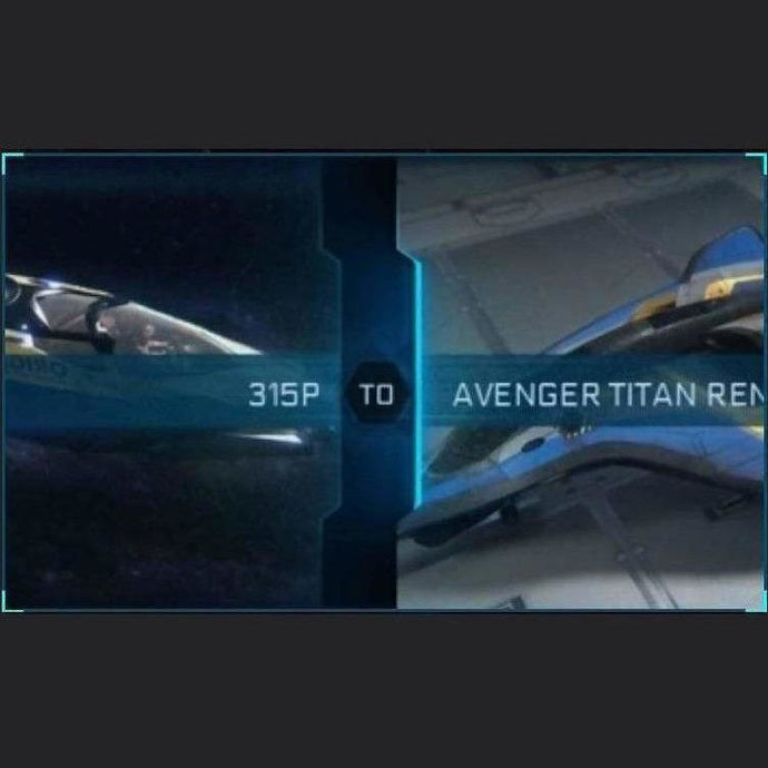 315p to Avenger Titan Renegade | Might | Space Foundry Marketplace