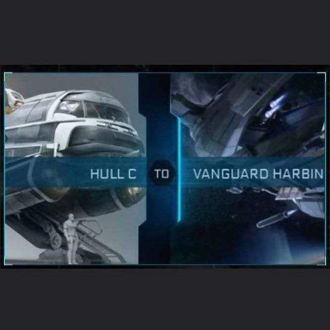 Hull C to Vanguard Harbinger | Upgrade | Might | Space Foundry Marketplace.