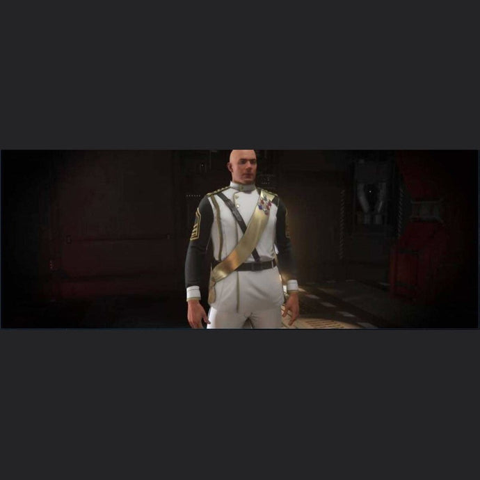 SECOND TEVARIN WAR WHITE DRESS UNIFORM | Might | Space Foundry Marketplace.