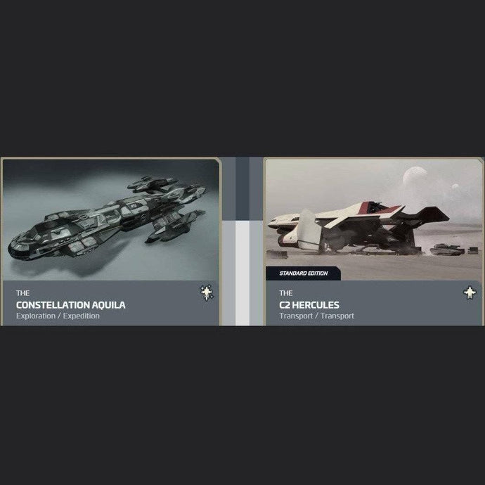 UPGRADE - CONSTELLATION AQUILA TO C2 HERCULES | GANJALEZZ JPEGs STORE | Space Foundry Marketplace