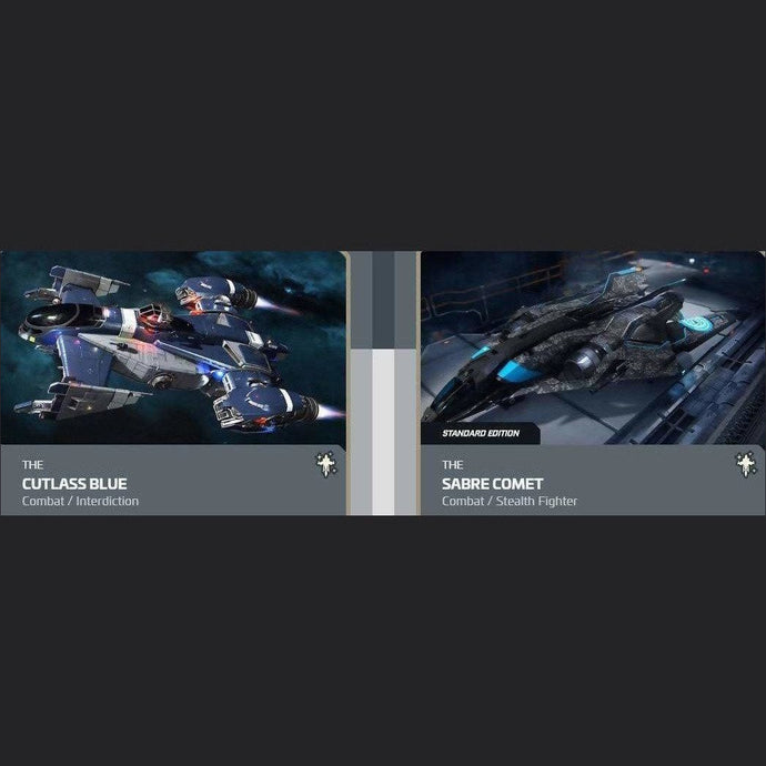 UPGRADE - CUTLASS BLUE TO SABRE COMET | Upgrade | JPEGS STORE | Space Foundry Marketplace.