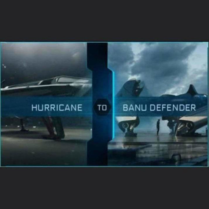 Hurricane to Defender | Upgrade | Might | Space Foundry Marketplace.