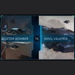 Retaliator Bomber to Valkyrie | Might | Space Foundry Marketplace