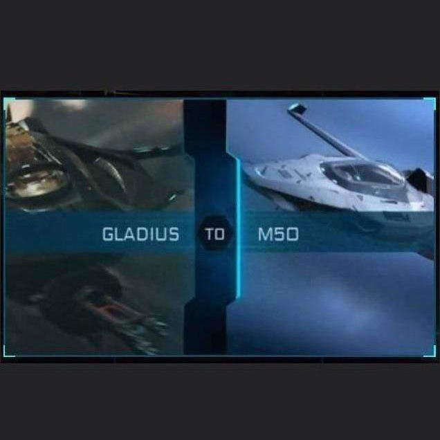GLADIUS TO M50 | Might | Space Foundry Marketplace