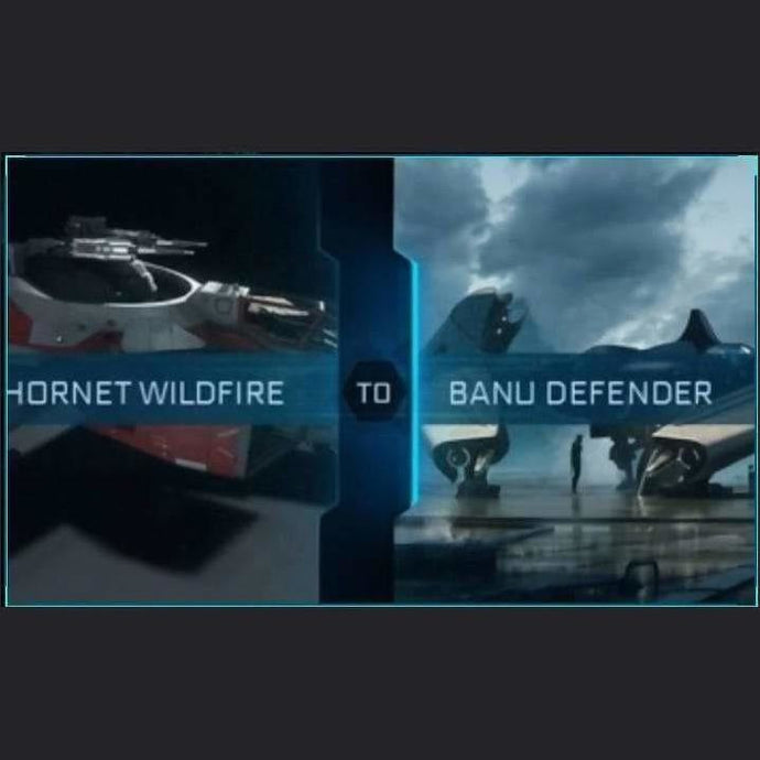 F7C Hornet Wildfire to Defender | Upgrade | Might | Space Foundry Marketplace.