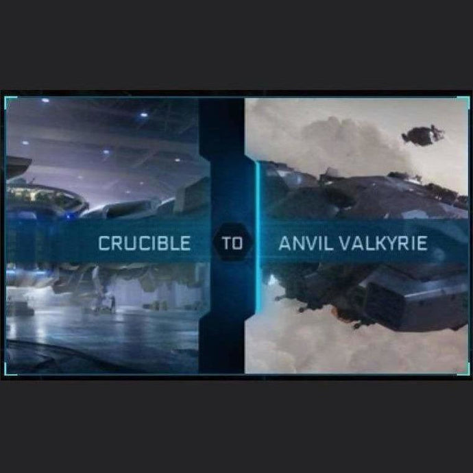 Crucible to Valkyrie | Upgrade | Might | Space Foundry Marketplace.