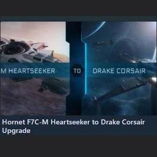 Hornet F7C-M Heartseeker to Drake Corsair Upgrade