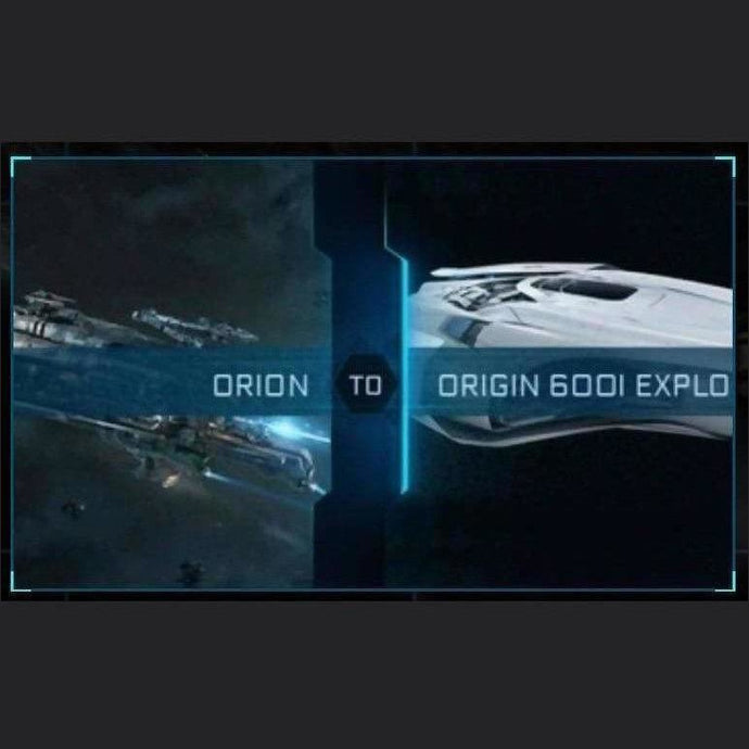Orion to 600i Explorer | Upgrade | Might | Space Foundry Marketplace.