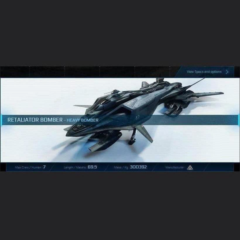 RETALIATOR BOMBER - LTI - CCUed | GANJALEZZ JPEGs STORE | Space Foundry Marketplace