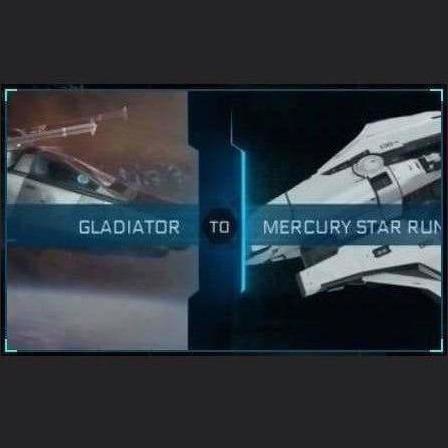 Gladiator to Mercury Star Runner | Might | Space Foundry Marketplace