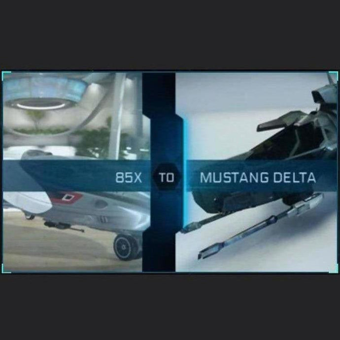 85x to Mustang Delta | Upgrade | Might | Space Foundry Marketplace.