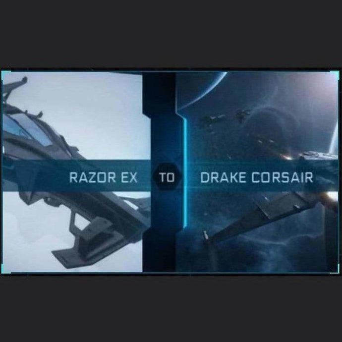 Razor EX to Corsair | Upgrade | Might | Space Foundry Marketplace.