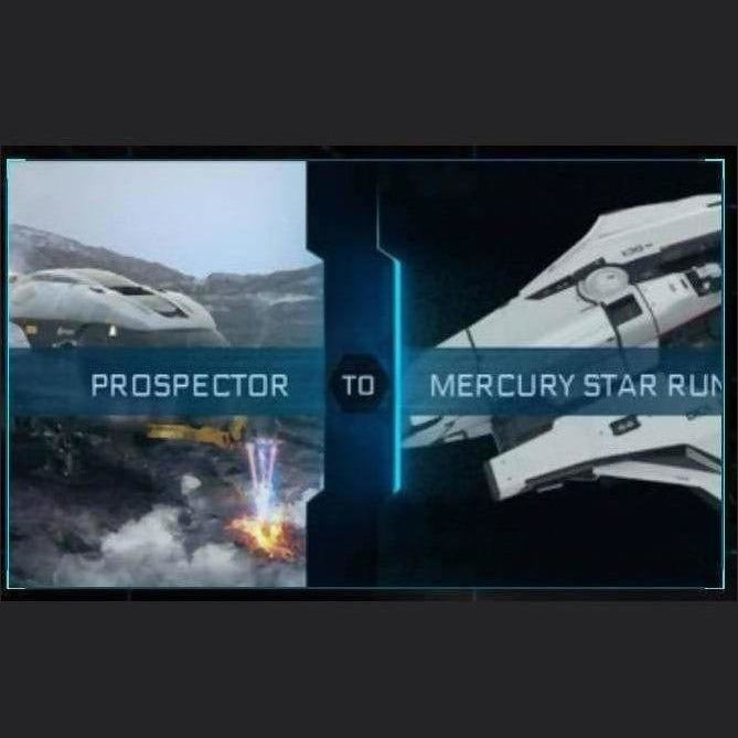 PROSPECTOR TO MERCURY STAR RUNNER | Upgrade | Might | Space Foundry Marketplace.