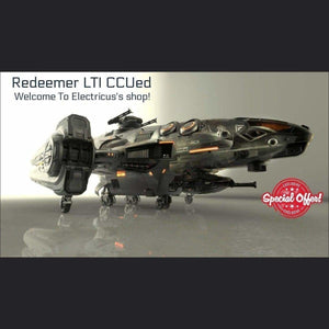 Aegis Redeemer LTI CCUed | Standalone CCU'd Ship | Official Store by Electricus | Space Foundry Marketplace.