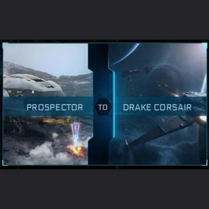Prospector to Corsair | Upgrade | Might | Space Foundry Marketplace.