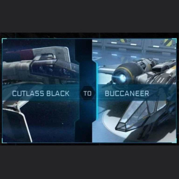 Cutlass Black to Buccaneer | Upgrade | Might | Space Foundry Marketplace.