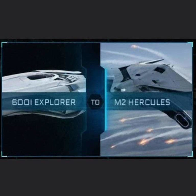 600i Explorer to M2 Hercules | Upgrade | Might | Space Foundry Marketplace.