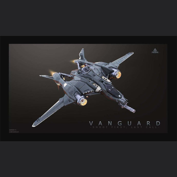Vanguard Warden LTI CCU'd | Standalone CCU'd Ship | Might | Space Foundry Marketplace.