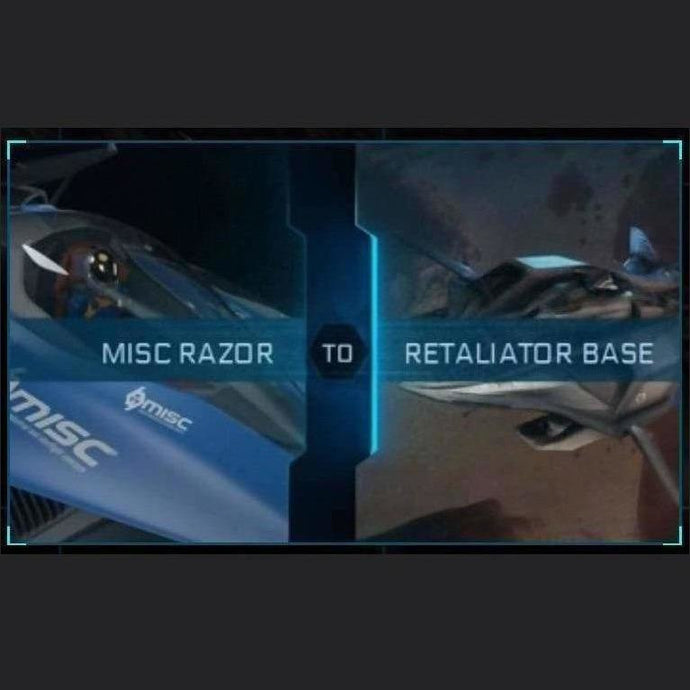 Razor to Retaliator Base | Upgrade | Might | Space Foundry Marketplace.
