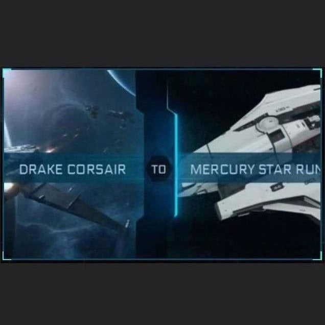 Corsair to Mercury Star Runner | Upgrade | Might | Space Foundry Marketplace.