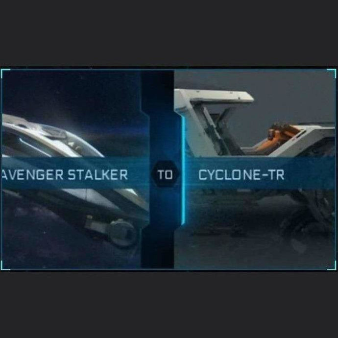 AVENGER STALKER TO CYCLONE-TR | Upgrade | Might | Space Foundry Marketplace.