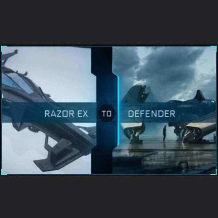 Razor EX to Defender | Upgrade | Might | Space Foundry Marketplace.