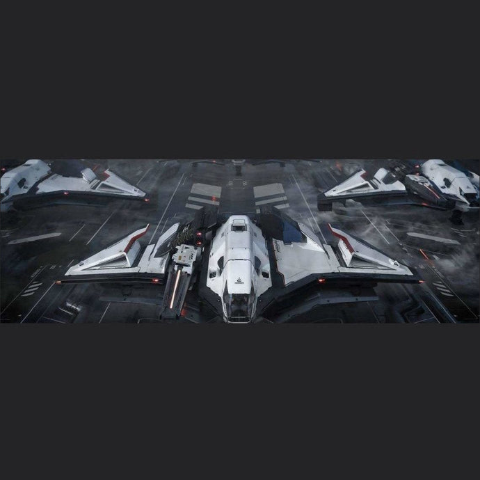Crusader Ares Ion Radiance - lti | Standalone Original Concept Ship | Games Kingdom | Space Foundry Marketplace.