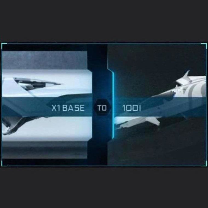 X1 Base to 100i | Upgrade | Might | Space Foundry Marketplace.
